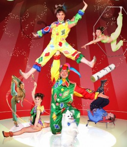 цирковые артисты