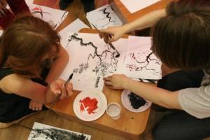 мастер класс китайская живопись