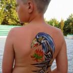 детский боди-арт
