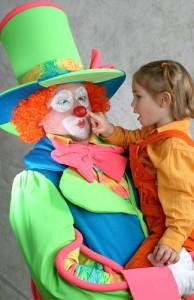 пригласить домой клоуна