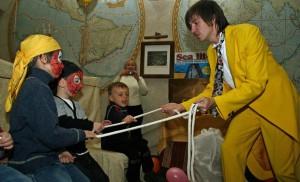 фокусник на день рождения ребенка