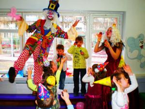 аказ клоуна на день рождения