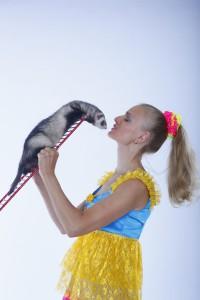 фокусы с животными