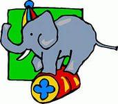 слон цирк