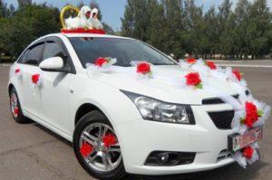 Как оформить свадебную машину